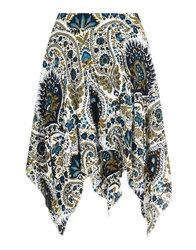 Bright and Beautiful retro boho 70s gypsy skirt