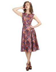 Bright and Beautiful Astrid retro 60s Mod dress