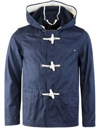 Gloverall summer monty duffle coat navy