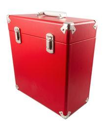 GPO RETRO RECORD BOX VINYL LP STORAGE BOX RED