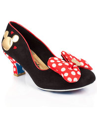 Irregular Choice Classic Minnie Mouse Heels Shoes