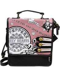 disaster sgt pepper beatles 60s pink mini satchel