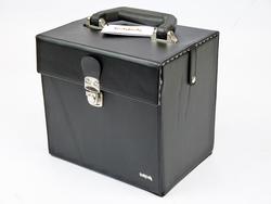 TUKTUK RETRO VINYL RECORD BOX 45RPM BLACK