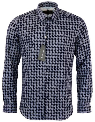 1 LIKE NO OTHER CIRCUIT 1 DOGTOOTH FLOCK SHIRT