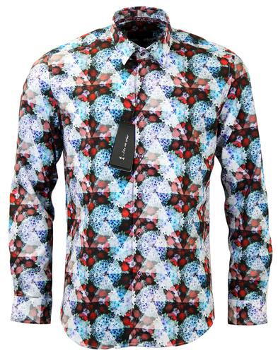 1 LIKE NO OTHER CHARGE KALEIDOSCOPE FLORAL SHIRT