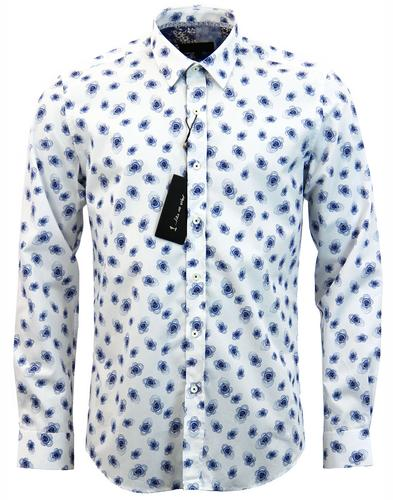 1 like no other edo print retro mod baroque shirt
