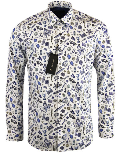 1 like no other spectacle retro 1960s mod shirt