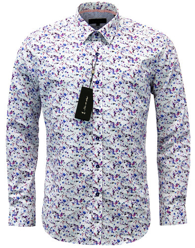 1 like no other philips watercolour floral shirt