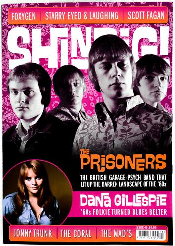 SHINDIG MAGAZINE ISSUE 43 60S MUSIC THE PRISONERS