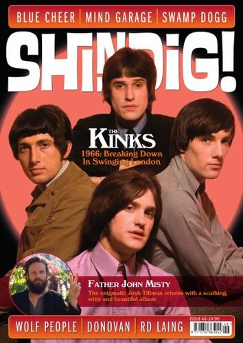 SHINDIG MAGAZINE ISSUE 46 60S MUSIC THE KINKS