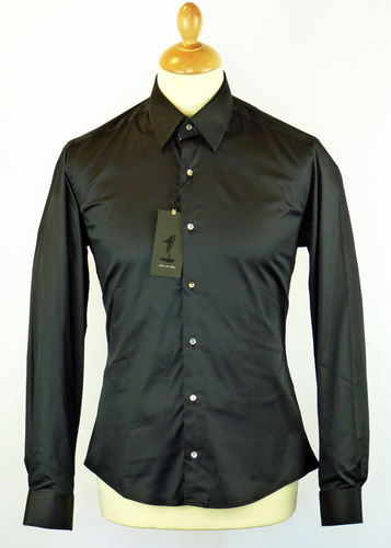 Panther Bird 1 LIKE NO OTHER 60s Mod Shirt (Black)