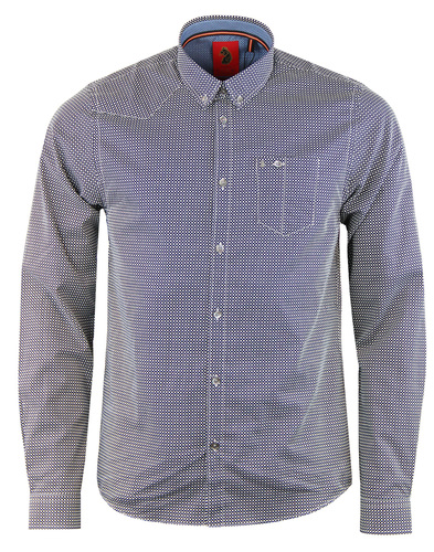 luke 1977 3 ans out geometric shirt
