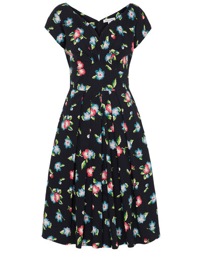 Emily and Fin Retro 50s Ada Floral Dress