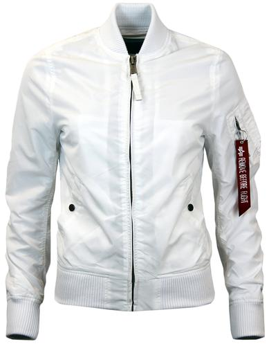 ALPHA INDUSTRIES MA1 TT WOMENS BOMBER JACKET W