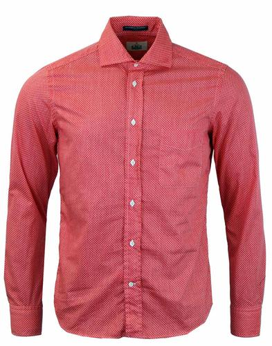 DEXTER D B BAGGIES RED POLKA DOT SHIRT
