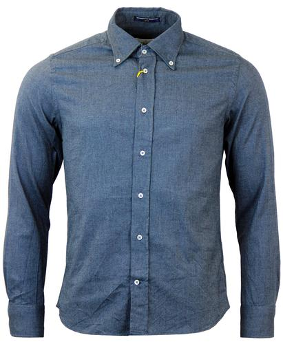 B D BAGGIES DEXTER RETRO MOD OXFORD SHIRT