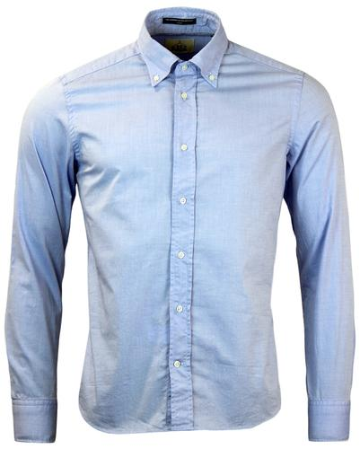 B D BAGGIES DEXTER RETRO MOD 60S OXFORD SHIRT