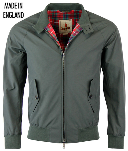 BARACUTA G9 RETRO MODERN CLASSIC HARRINGTON JACKET