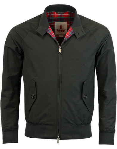 baracuta G9 Harrington jacket Faded Black
