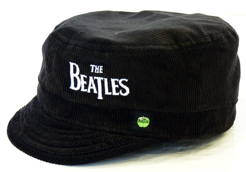The Beatles Retro Indie Military Mod Cord Hat
