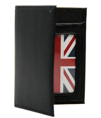 BEN SHERMAN RETRO MOD LEATHER CARD WALLET