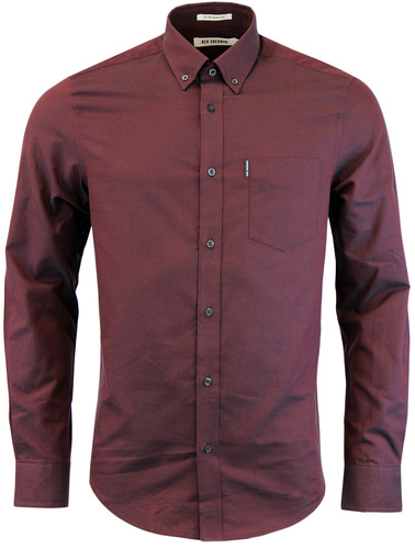BEN SHERMAN 60S BUTTON DOWN OXFORD SHIRT