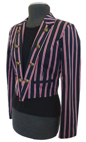 BEN SHERMAN WOMENS RICHMOND BLAZER RETRO MOD