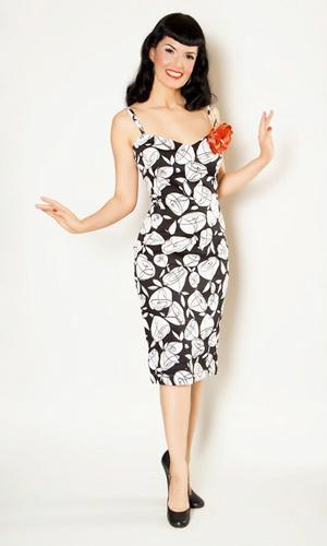 BETTIE PAGE VANESSA DRESS RETRO FIFTIES DRESSES