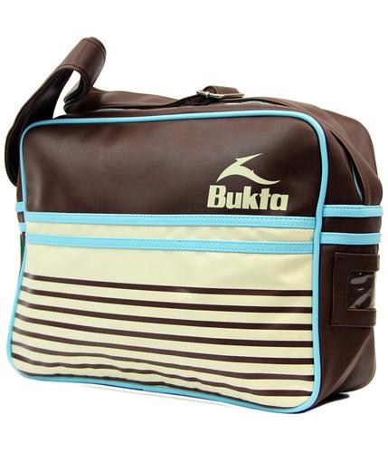 BUKTA VINTAGE RETRO MOD SHOULDER FLIGHT BAG