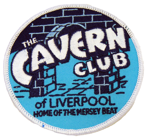 CAVERN CLUB SEW ON PATCH HOME OF MERSEYBEAT MUSIC