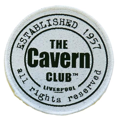 RETRO CAVERN CLUB BEATLES SEW ON PATCH RETRO BADGE