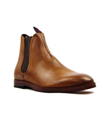 Hudson Chelsea Boots Tamper Calf Tan
