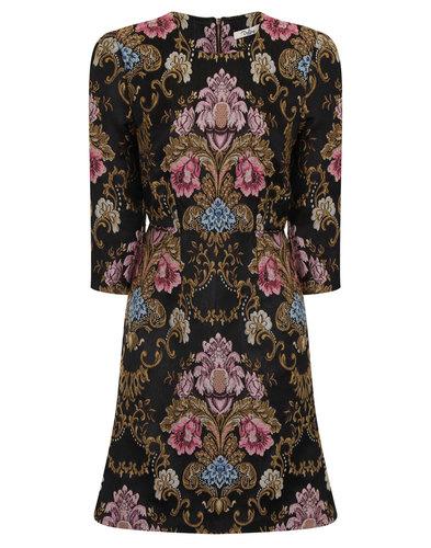 Darling Retro Vintage Embroidered Hepburn Dress