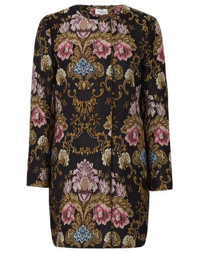 Darling Retro Vintage Embroidered Hepburn Coat