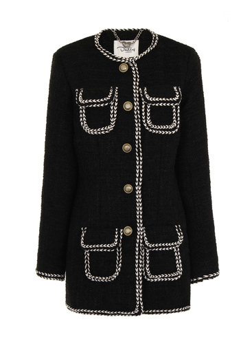 Darling Retro Vintage 60s Coat Cece Black