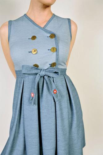 DAINTY JUNE RETRO DRESS RETRO SIXTIES DRESS MOD