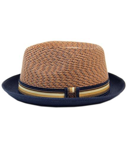 DASMARCA ADRIAN RETRO MOD SAHARA WEAVE TRILBY HAT