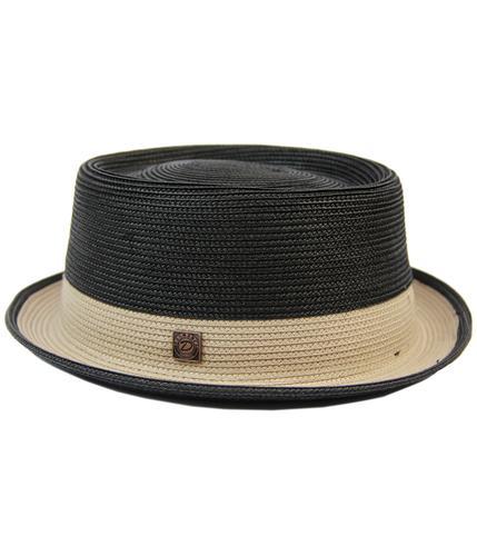 DASMARCA BOBBY RETRO MOD MENS WEAVE TRILBY HAT