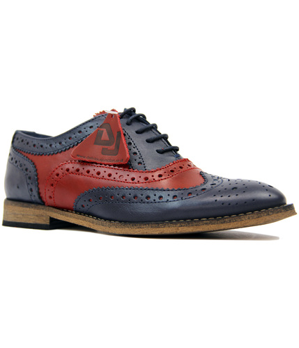 DELICIOUS JUNCTION SEDGWICK 2 TONE MOD BROGUES