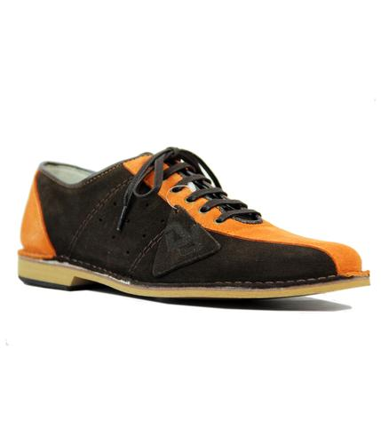 DELICIOUS JUNCTION WATTS BOWLING SHOES BROWN ORANG