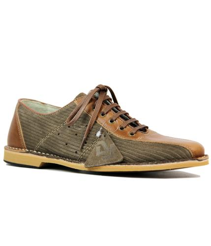 DELICIOUS JUNCTION WATTS BOWLING SHOES TAUPE