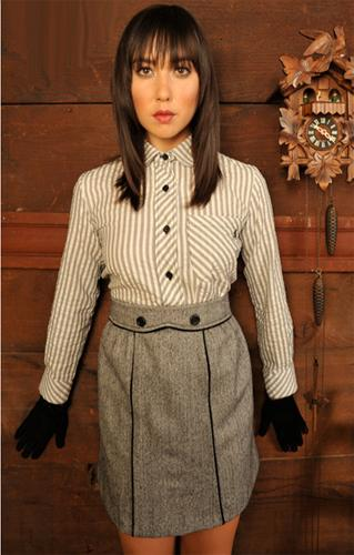 DAINTY JUNE DURVISH SKIRT SUIT SIXTIES RETRO MOD
