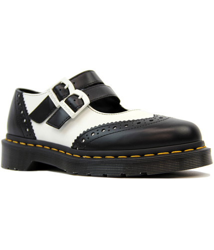 DR MARTENS ADENA 11 RETRO SMOOTH MARY JANE BROGUES
