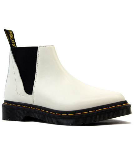 Bianca DR MARTENS Smooth Leather Mod Chelsea Boots