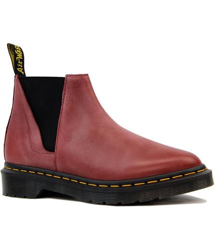Bianca DR MARTENS Antique Milled Mod Chelsea Boots