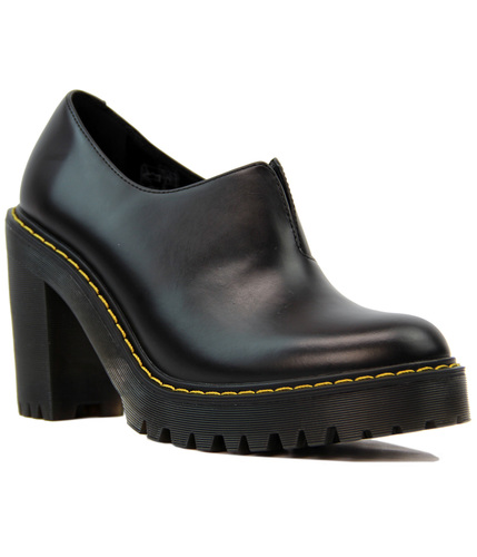Cordelia DR MARTENS Retro Mod Smooth Leather Heels
