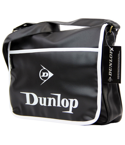 DUNLOP RETRO INDIE MOD SHOULDER SATCHEL BAG