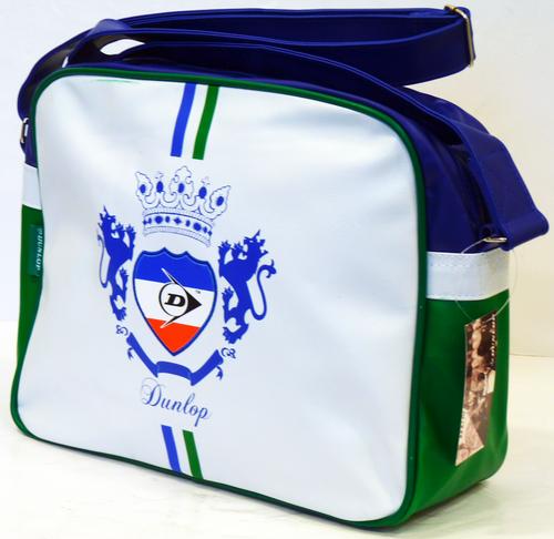 Flag Crest DUNLOP Retro Indie Mod Shoulder Bag (W)