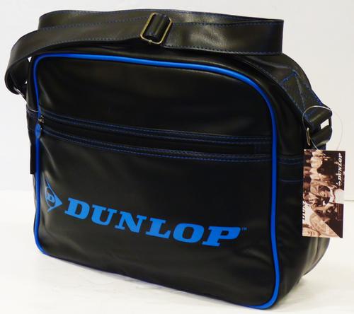DUNLOP RETRO SHOULDER BAG NEON PIPING TRIM MOD BAG