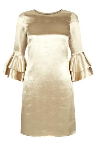 TRAFFIC PEOPLE Retro Mod 60s Satin Mollie Dress
